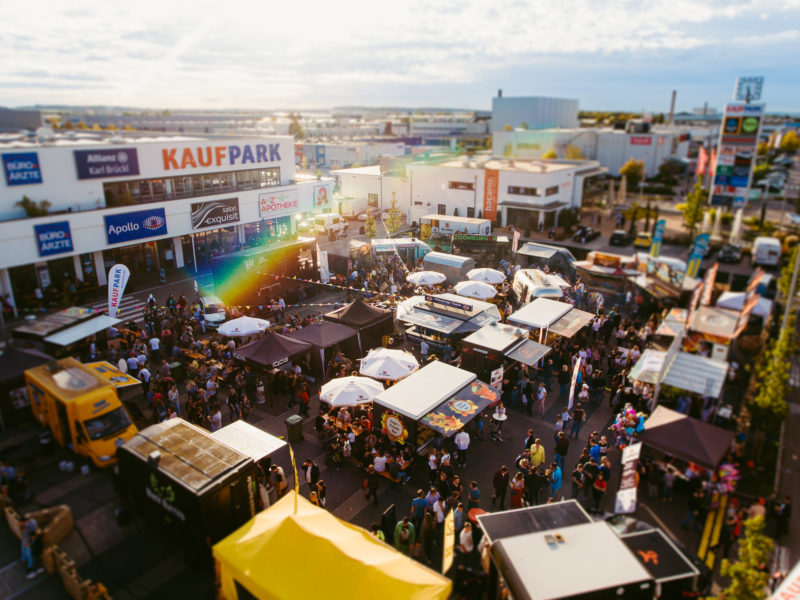 Street food schmeckfestival Neutraubling